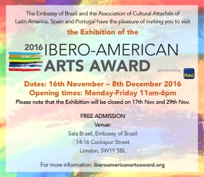 ibero-american-arts-award-exhibition-advert